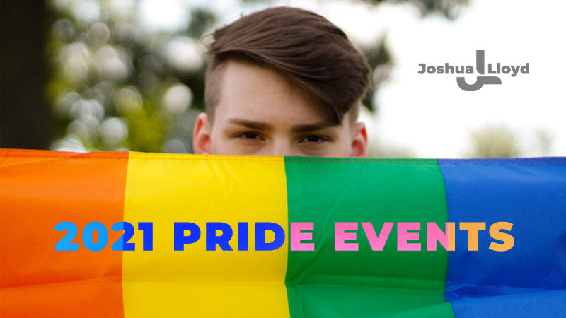 2021 LGBT UK Gay Pride Events Attended by Joshua Lloyd Label