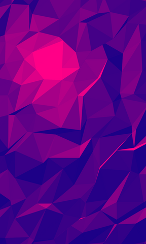 low poly bisexual mobile wallpaper background