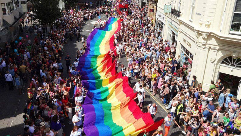 Brighton and Hove LGBT Gay Pride 2021