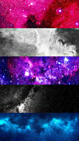 space genderfluid mobile wallpaper background
