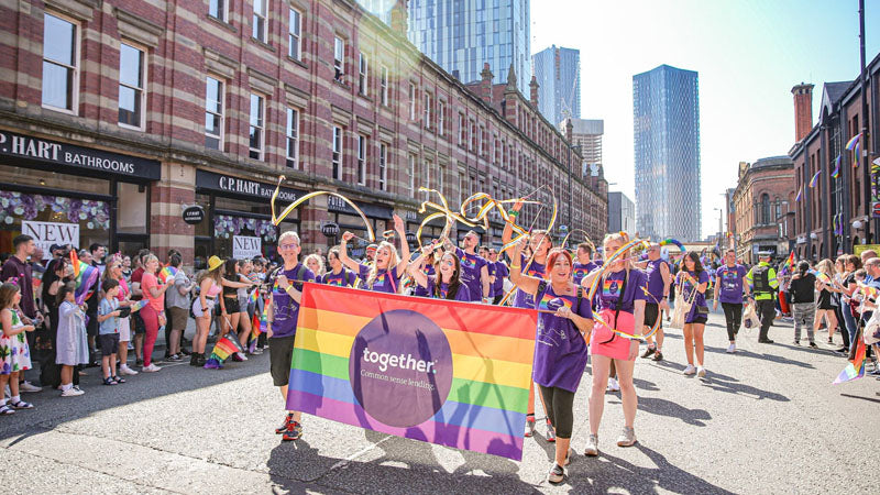 Manchester LGBT Gay Pride 2021