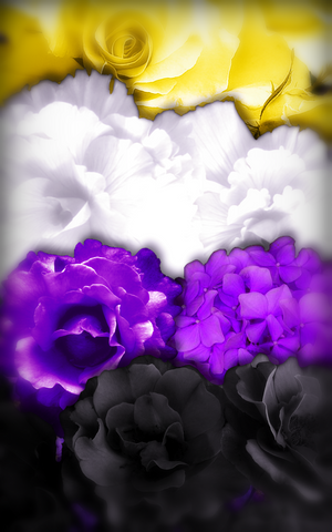 flowers non binary mobile wallpaper background