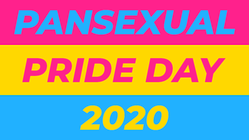 Pansexual Pride Day Blog