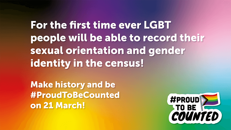 #ProudToBeCounted