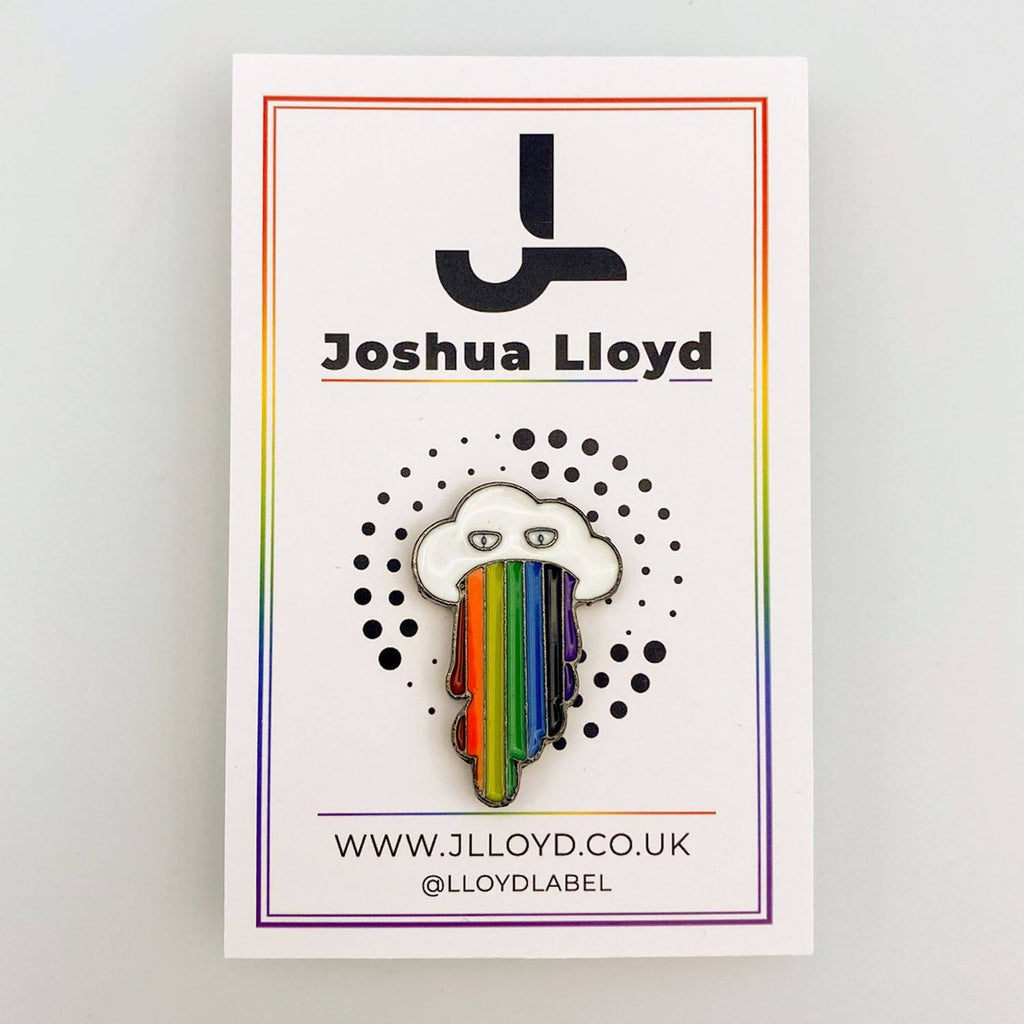 LGBT Gay Pride Pin Badge | Cloud - Joshua Lloyd
