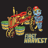 Robot Pharmer First Harvest Black Bamboo Artwork