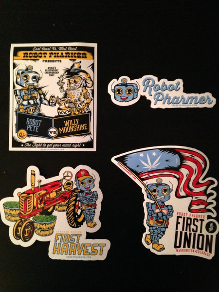 Sticker/Slap pack 1st Edition