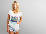 Respect Your Budtender Women's V-neck shirt