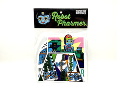 Sticker/Slap pack 2 Respect your Budtender Edition