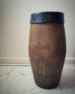 Coconut Wood Side Table