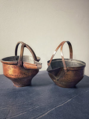 Copper Serving Pots