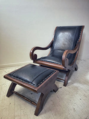 Indonesian Campeche Chair