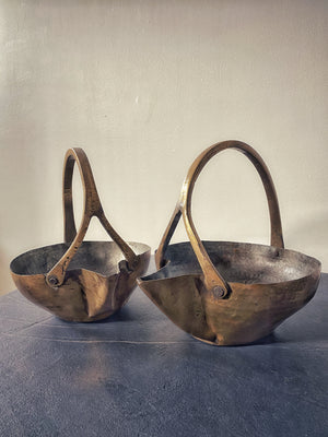 Brass Serving Pots