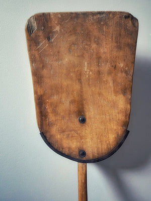Antique Wooden Shovel