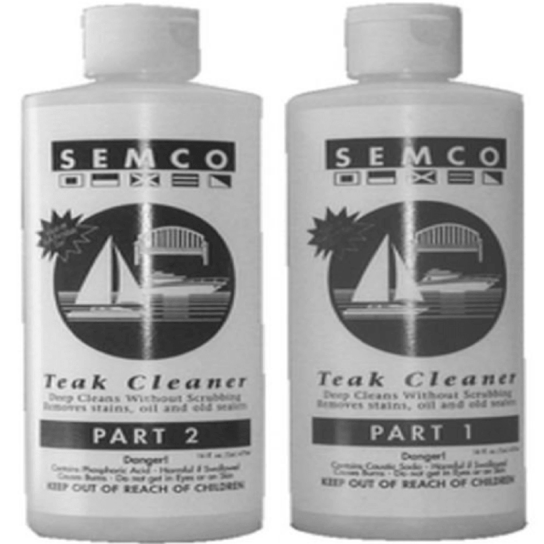 teak 2-part cleaner