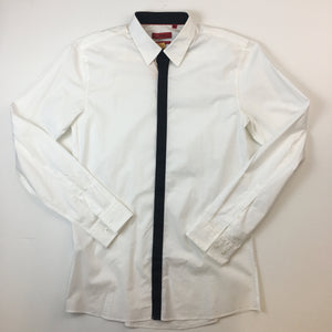 Fitted cotton shirt by Hugo Boss
