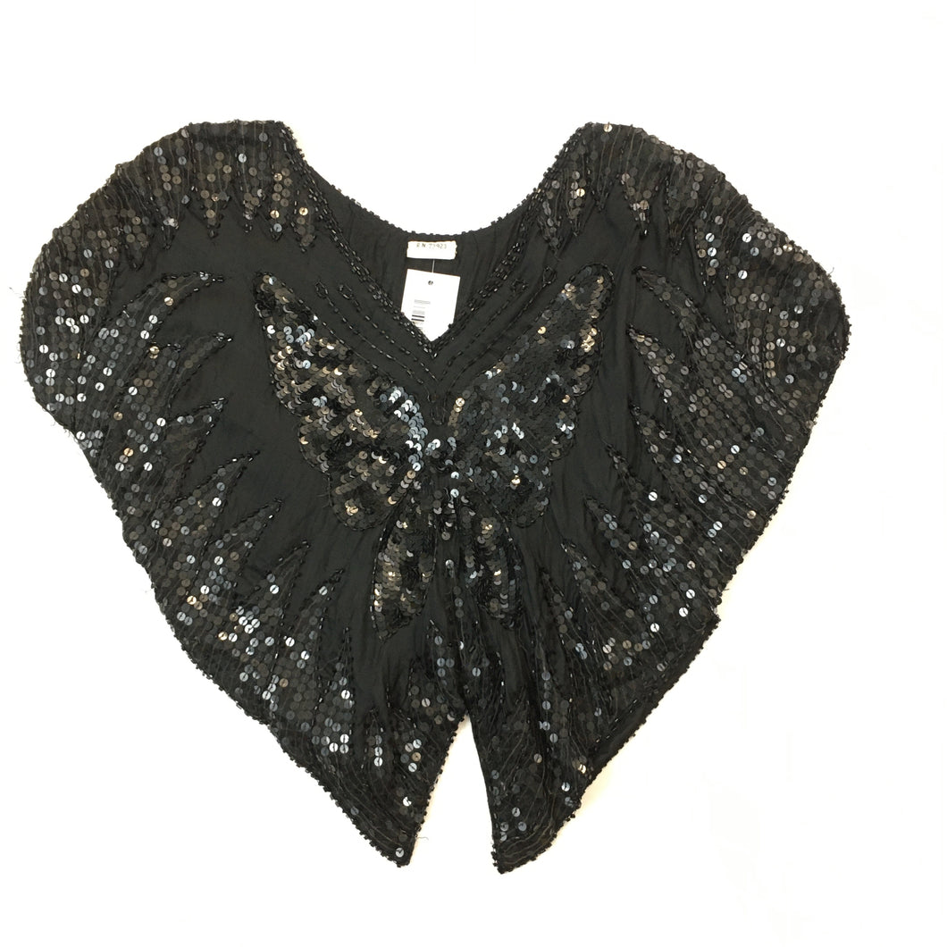Vintage embroidered Buterfly Top