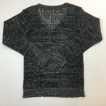Load image into Gallery viewer, Lurex v neck sweater by Marjan Pejoski