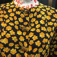 Load image into Gallery viewer, YSL vintage Silk flower jacket