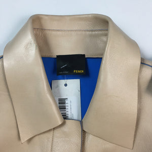 short leather shirt/jacket by Fendi