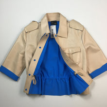 Load image into Gallery viewer, short leather shirt/jacket by Fendi