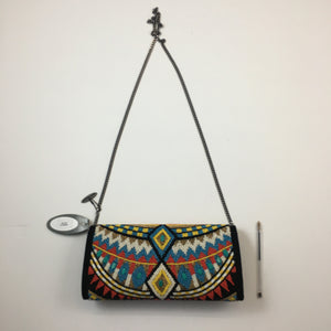 new beaded turquoise bag by Mary Frances