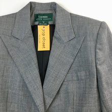 Load image into Gallery viewer, straight cut blazer by Lauren (Ralph Lauren)