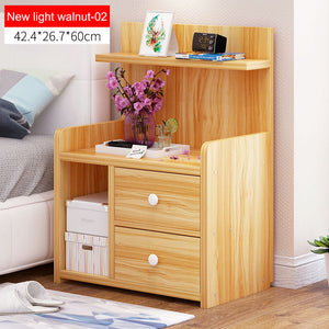 Nightstand Wooden Bedside table With drawer organizer Storage cabinet fashion Mini desk bedroom Furniture