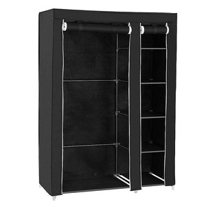 Multipurpose Non-woven Cloth Wardrobe Closet Folding Dustproof Clothing Storage Cabinet Cloth Closet Home Bedroom Furniture HWC