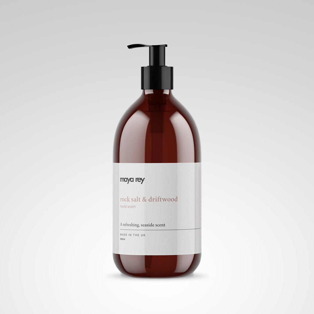 Rock Salt & Driftwood Liquid Hand Soap