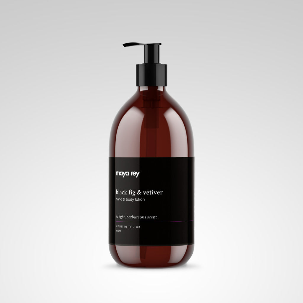 Black Fig & Vetiver Hand & Body Lotion