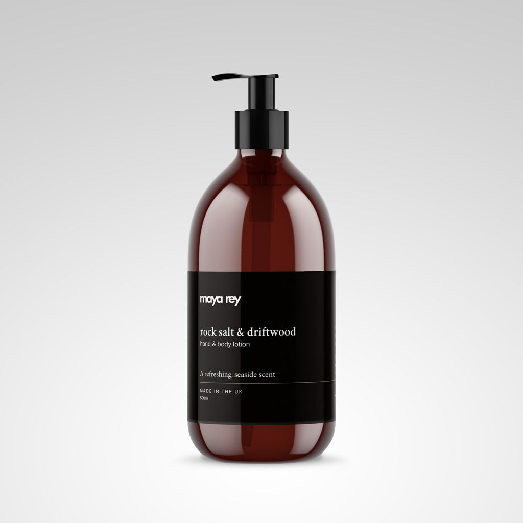 Rock Salt & Driftwood Hand & Body Lotion