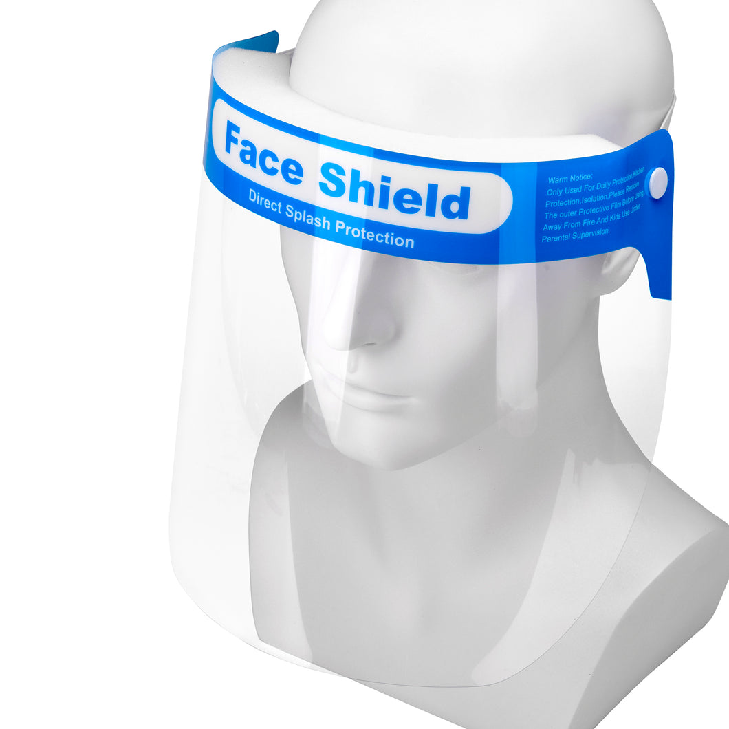 Transparent Face Isolated Mask