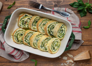 Crespelle with Spinach & Ricotta