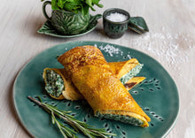 Load image into Gallery viewer, Crespelle w/ Spinach & Ricotta
