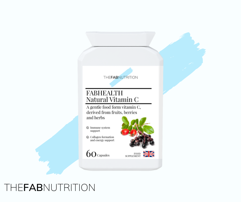FABHEALTH Natural Vitamin C