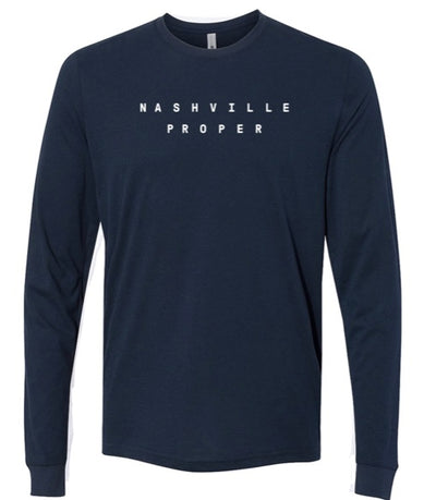 Nashville Proper Sueded Crew- Midnight Navy (4542577639469)