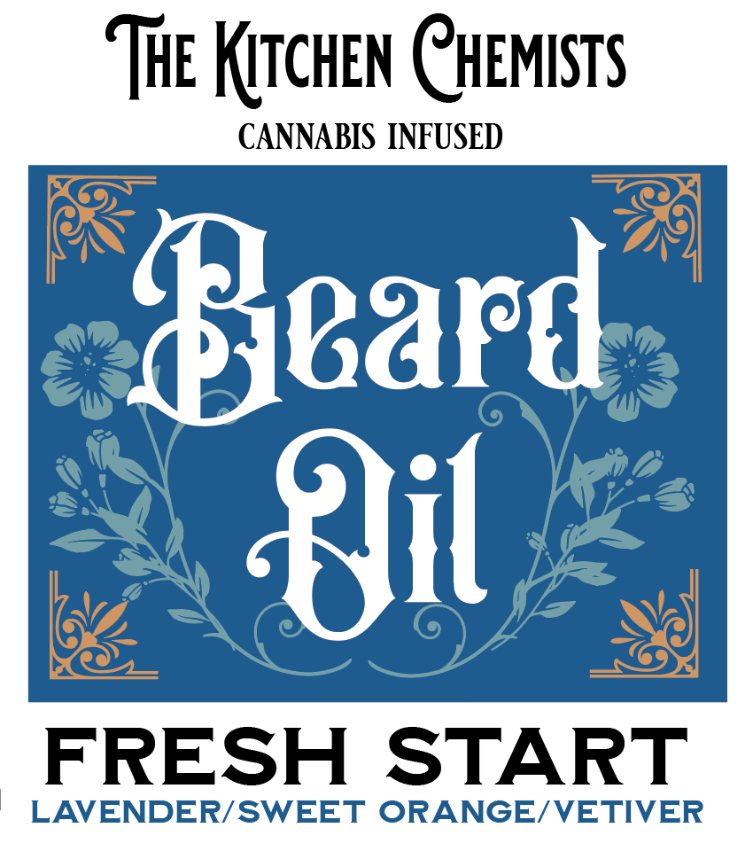 Fresh Start Beard Oil - Lavender, Sweet Orange, Vetiver