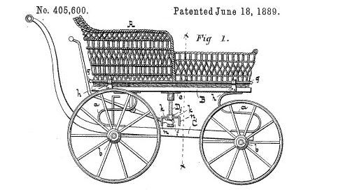 stroller history featured with dates