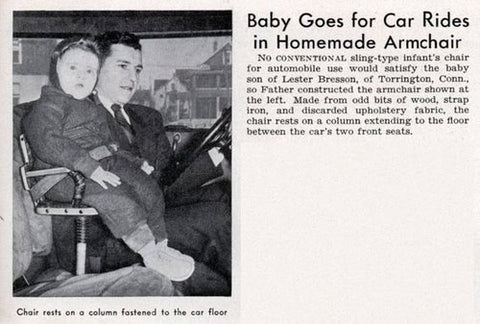 car seat history - booster seat