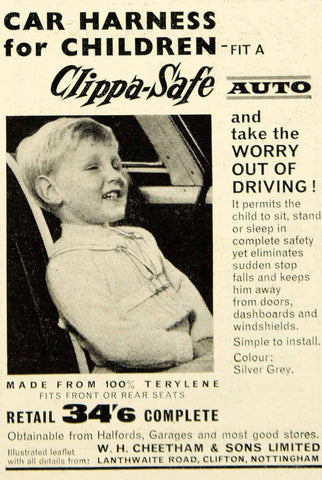 car harness for children