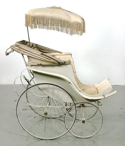 1850s-history of the stroller perambulator