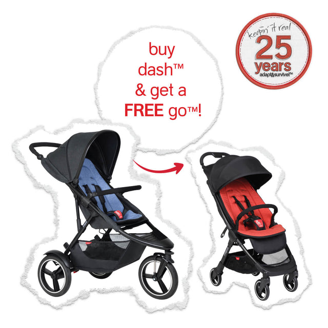 the real big birthday deal - dash™ with FREE go™ buggy