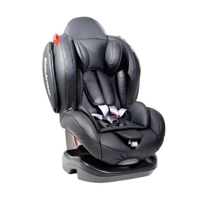 phil&teds evolution car seat 3/4 view_black