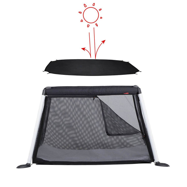 phil&teds traveller portable travel baby cot slim shady_default