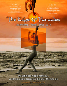 The Edge of Paradise Color Beach Dance Poster