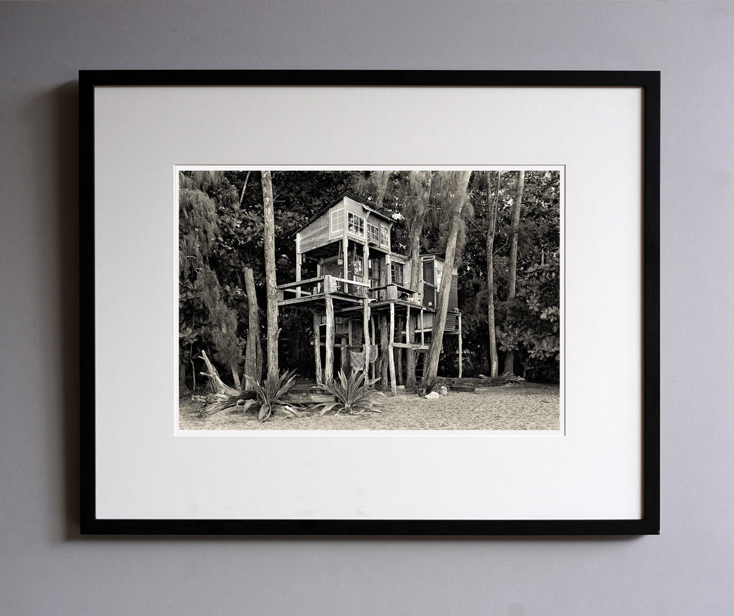 Diane Striegel's House, 1976 - Framed Print