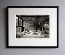 Load image into Gallery viewer, Diane upstairs in the bedroom, 1976 - Framed Print