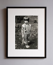 Load image into Gallery viewer, Gary with his sword, 1976 - Framed Print