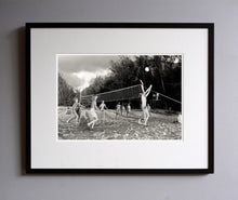 Load image into Gallery viewer, Beach volleyball, 1977 - Framed Print